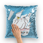 Fluff You Sequin Cushion / Cover