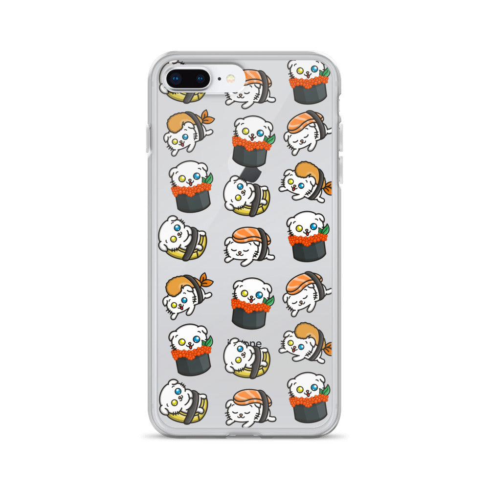 Sushi + Cat Addiction - iPhone Case