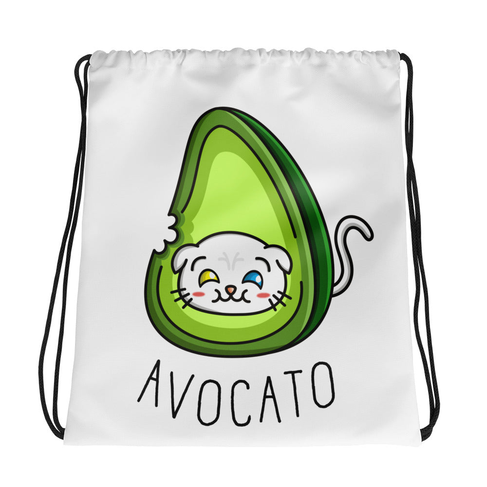Avocato - Drawstring Bag