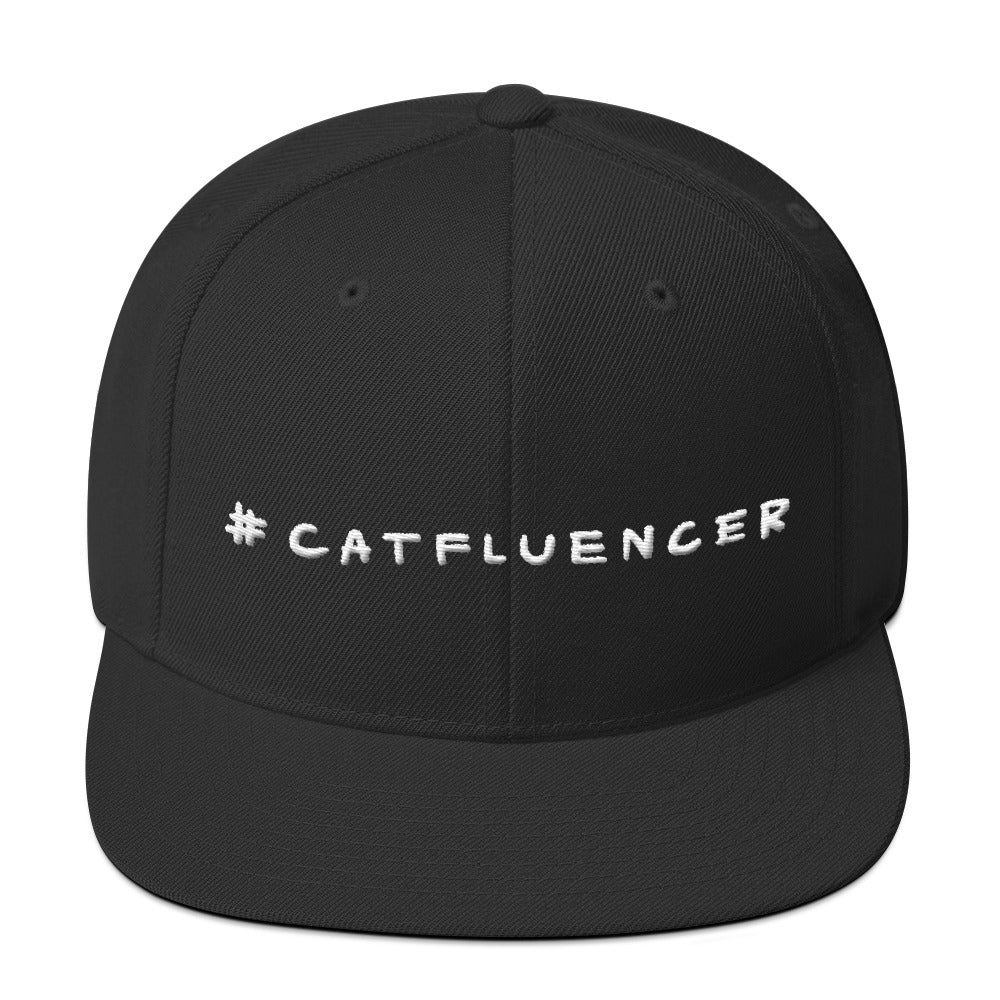 #Catfluencer Snapback Hat