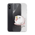 Do I Look Like I Care - iPhone Case