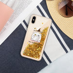 Fluff You - Liquid Glitter Phone Case