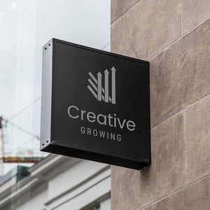 Creative Growing Arrows Logo