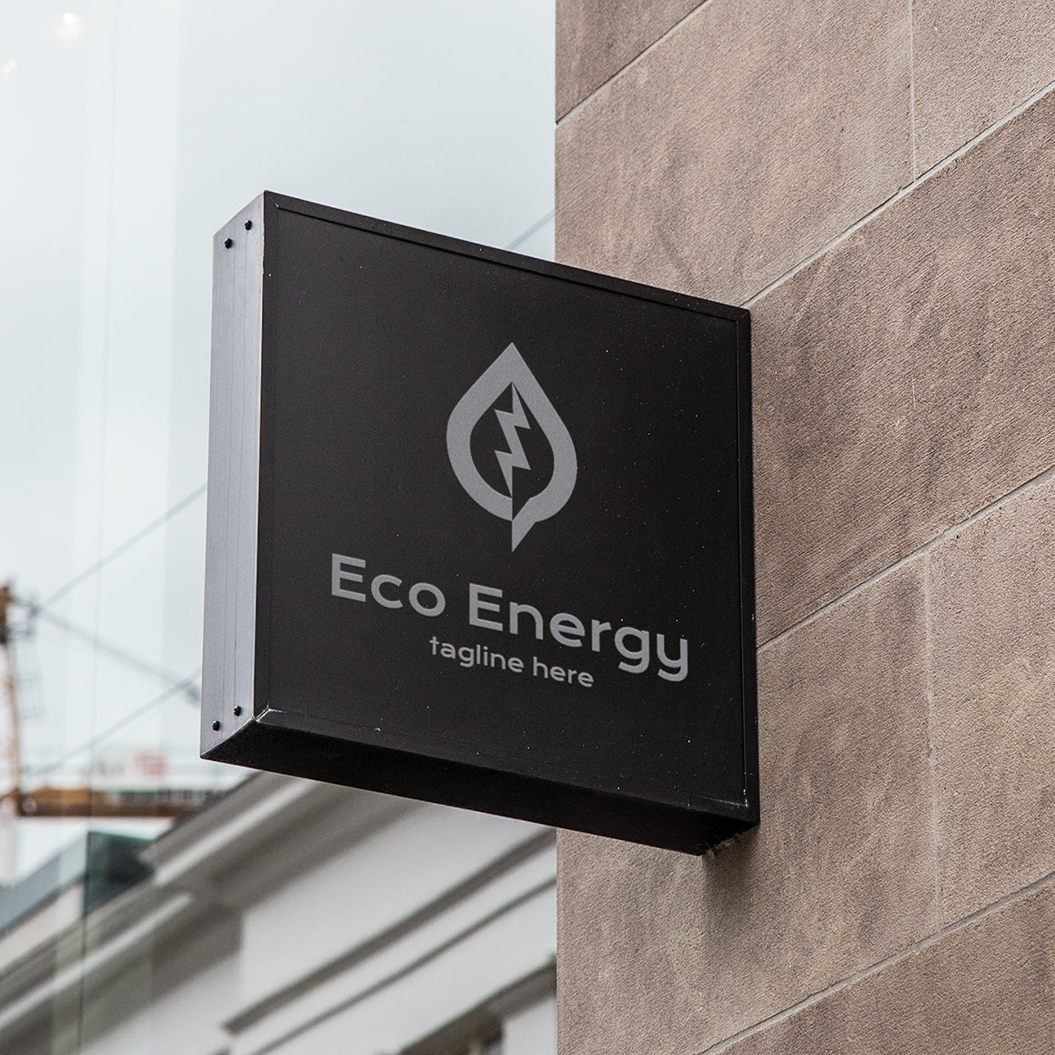Eco energy logo