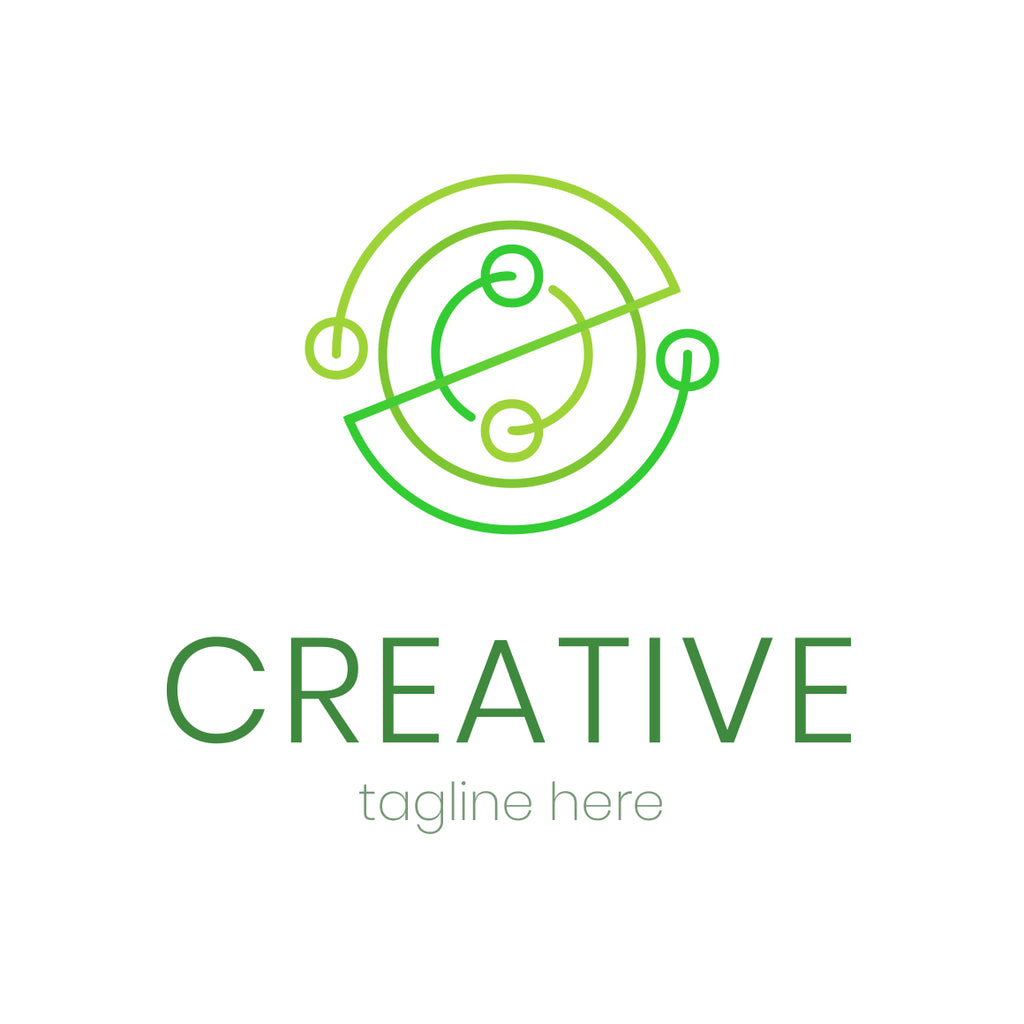 Creative abstract lines logo