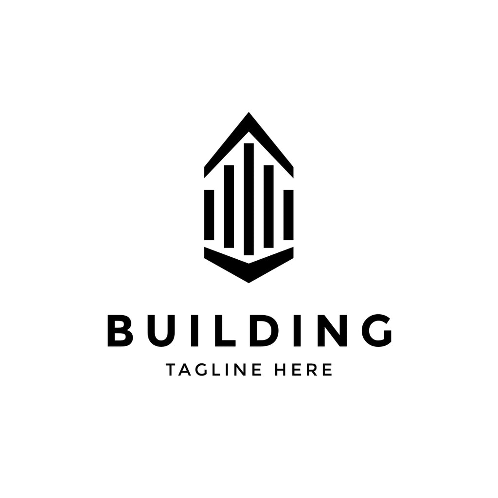 Building abstract logo template