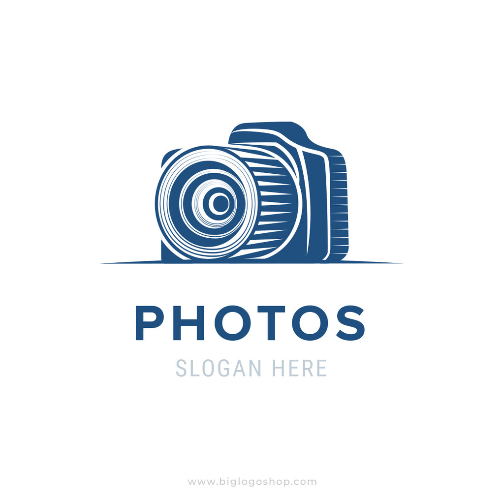 Photographer or photo studio logo design
