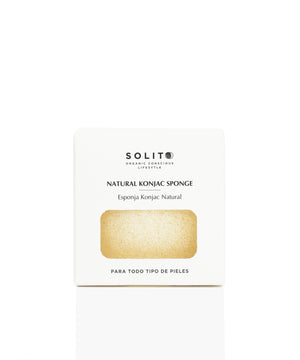 Facial Konjac Sponge - Neutral