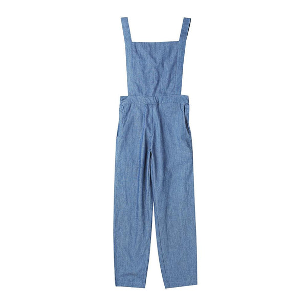 Trixie overalls - chambray