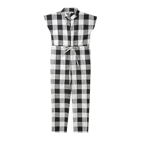 Lisette jumpsuit - black and white