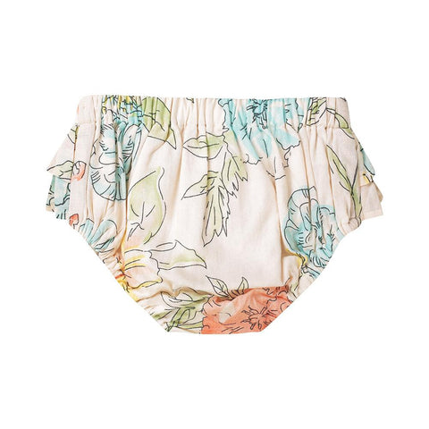 Emma bloomers - floral cotton voile