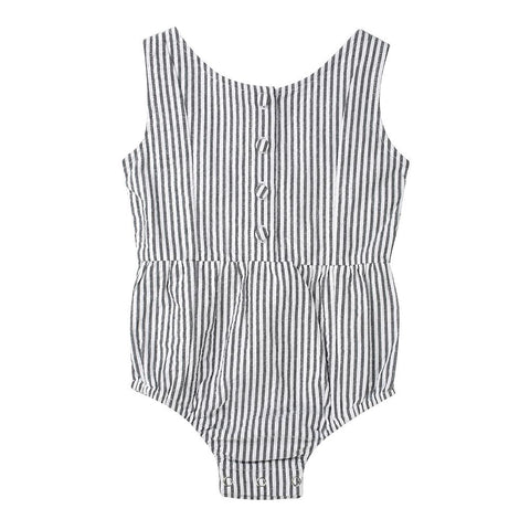 Evie playsuit - cotton seersucker