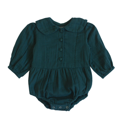 Evie playsuit - teal