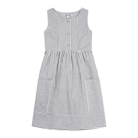 Kate dress - cotton seersucker