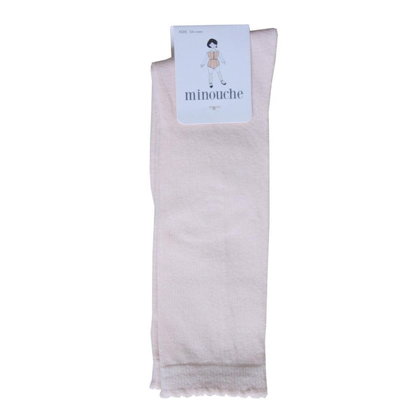 Knee-high socks - buttermilk