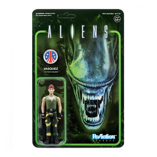 Aliens ReAction - Vasquez Action Figure