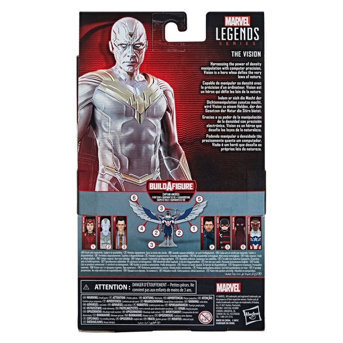 Marvel Legends Series Avengers Vision 6-Inch Action Figure