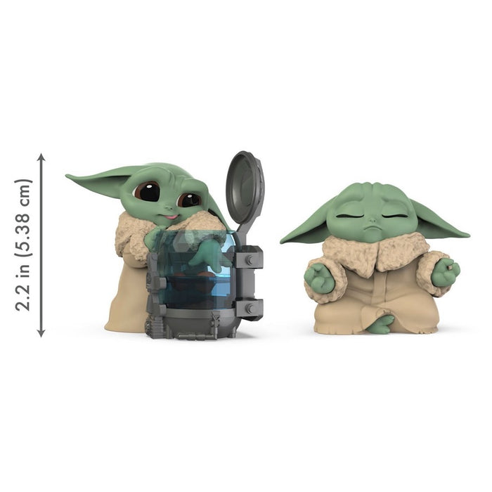 Star Wars The Mandalorian Baby Bounties Curious and Meditation Mini-Figures
