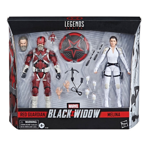 Marvel Legends Black Widow Red Guardian and Melina Vostkoff 6-Inch Action Figures