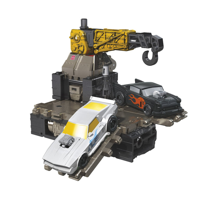 Transformers Generations War for Cybertron: Earthrise Wave 1 Deluxe Ironworks Action Figure