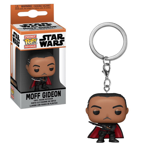 Star Wars: The Mandalorian Moff Gideon Pocket Pop! Key Chain