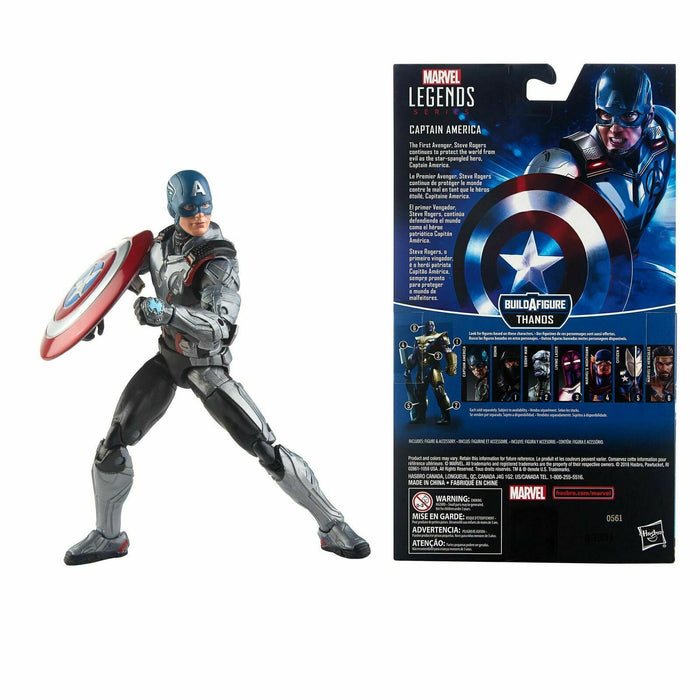 Marvel Legends Avengers Captain America 6-Inch Action Figure Wave 3