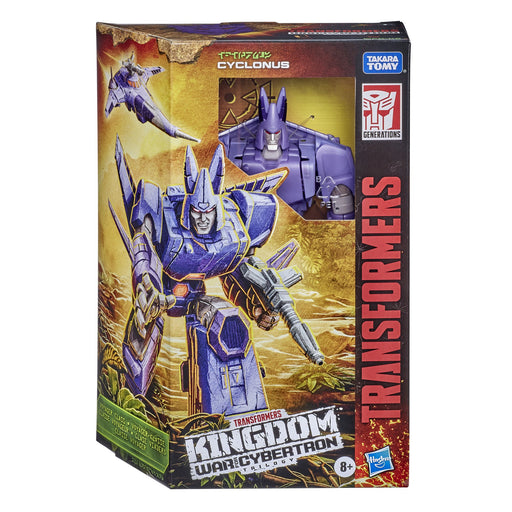 Transformers Generations Kingdom Voyager Wave 1 Cyclonus Action Figure