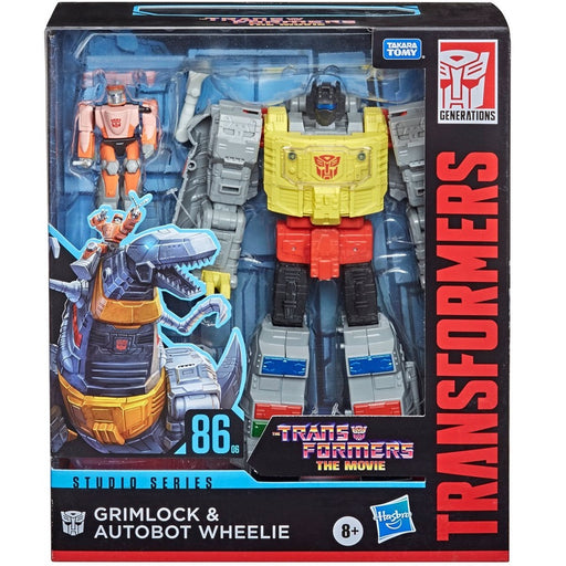 Transformers Studio Series 86-06 Leader Grimlock and Autobot Wheelie