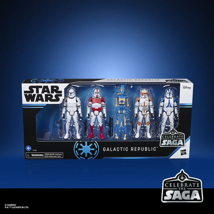 Star Wars Celebrate the Saga Galactic Republic 3 3/4-Inch Action Figure Set
