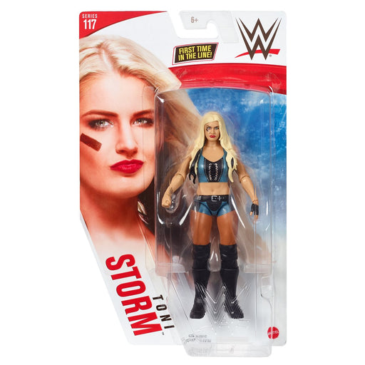 WWE Basic Series 117 Toni Storm (Blue & Black Outfit) 6-Inch Action Figure