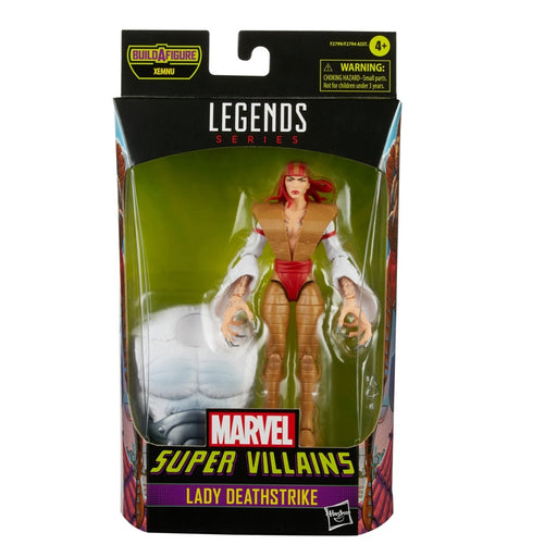 Marvel Legends Super Villains Lady Deathstrike 6-Inch Action Figure