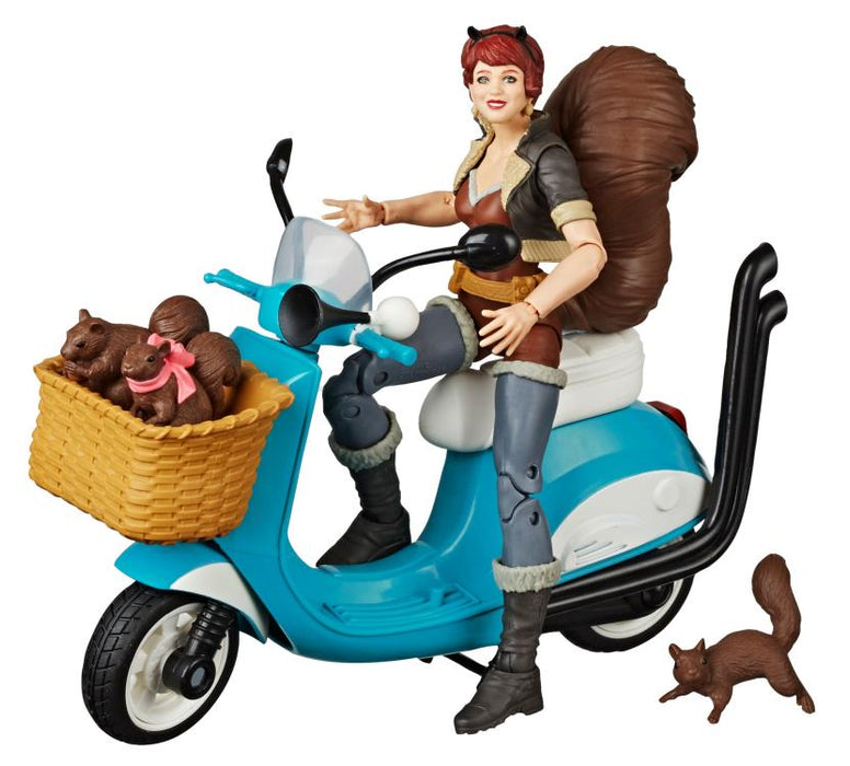 Marvel Legends The Unbeatable Squirrel Girl 6-Inch Action Figure with Vespa Vehicle
