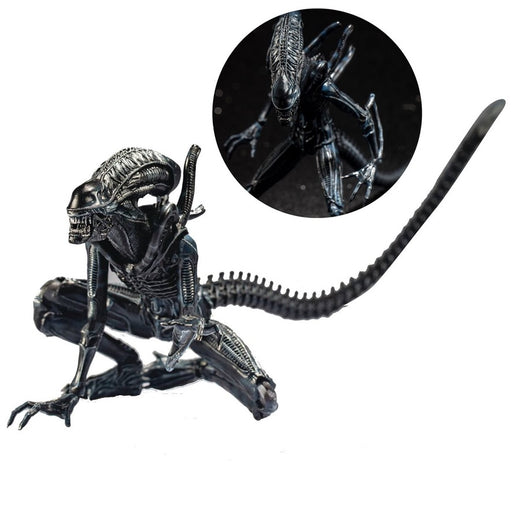 Aliens Crouching Alien Warrior 1:18 Scale Action Figure - Previews Exclusive
