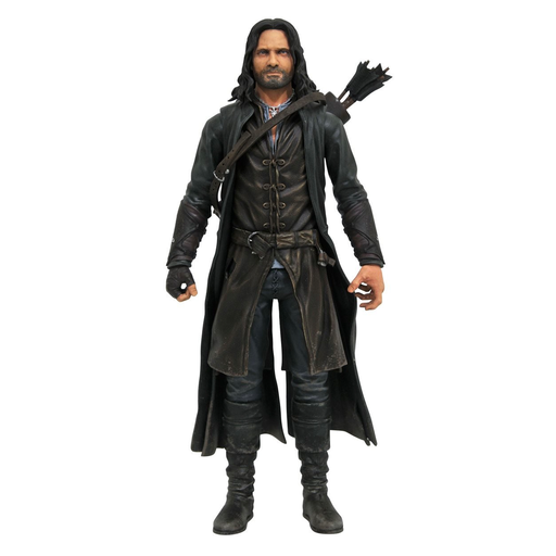 Lord of the Rings Series 3 Deluxe Aragorn Action Figure