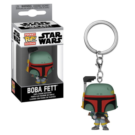 Star Wars Boba Fett Pocket Pop! Key Chain