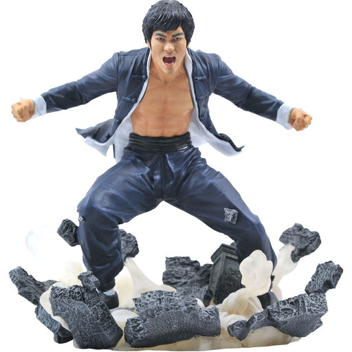 Bruce Lee Gallery Earth Statue