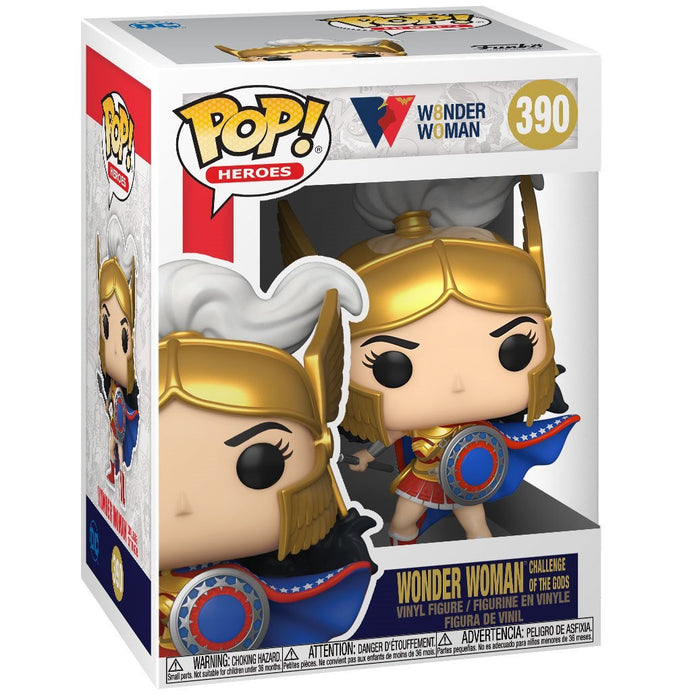 Funko POP! Wonder Woman 80th Anniversary Challenge Of The Gods Pop! Vinyl Figure #390