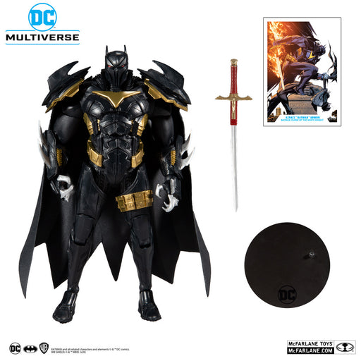 DC Multiverse Wave 3: White Knight Azrael 7-Inch Action Figure