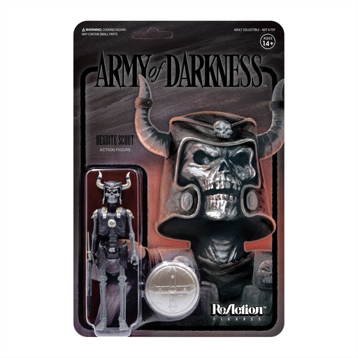 Army Of Darkness ReAction - Deadite Scout (Midnight) Action Figure