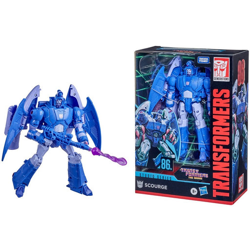 Transformers Studio Series 86 Premier Voyager Scourge Action Figure
