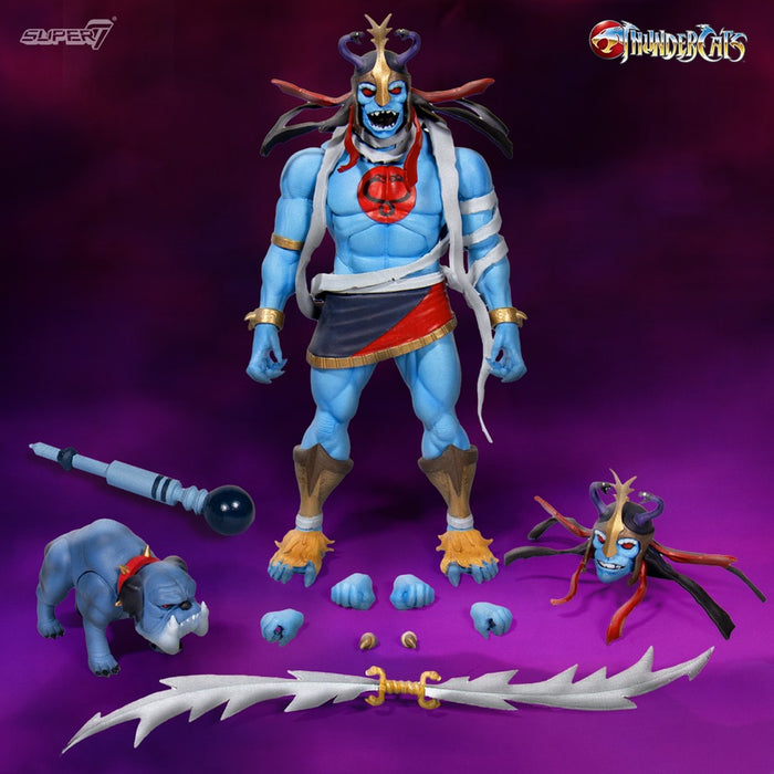 ThunderCats Ultimates Mumm-Ra with Ma-Mutt 8-Inch Scale Deluxe Action Figure Set