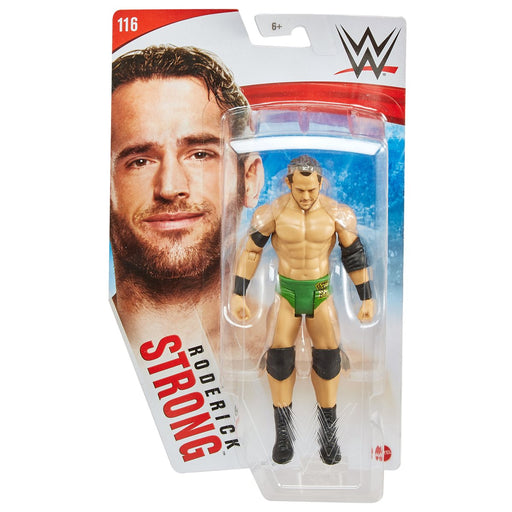 WWE Basic Figure Series 116 Roderick Strong  Action Figure