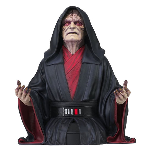 Star Wars: The Rise of Skywalker Emperor Palpatine 1:6 Scale Mini-Bust