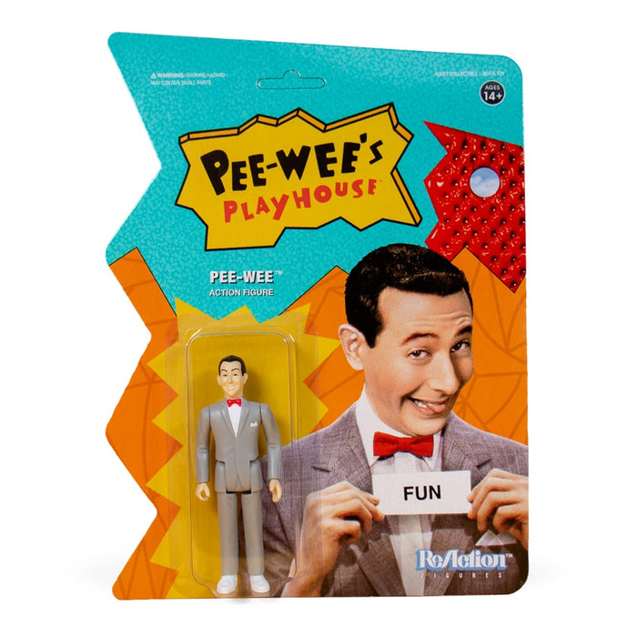 Pee-wee's Playhouse ReAction Pee-wee Figure