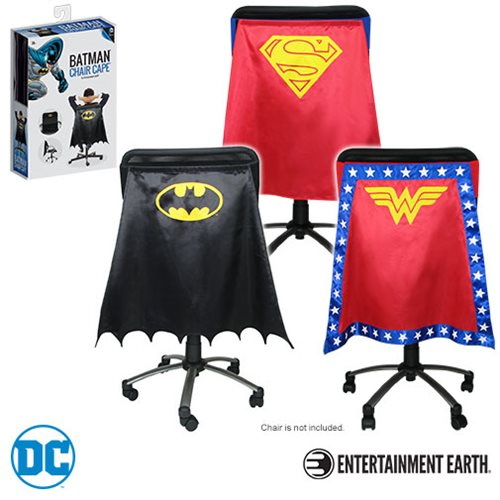 DC Comics Justice League Heroes Chair Capes