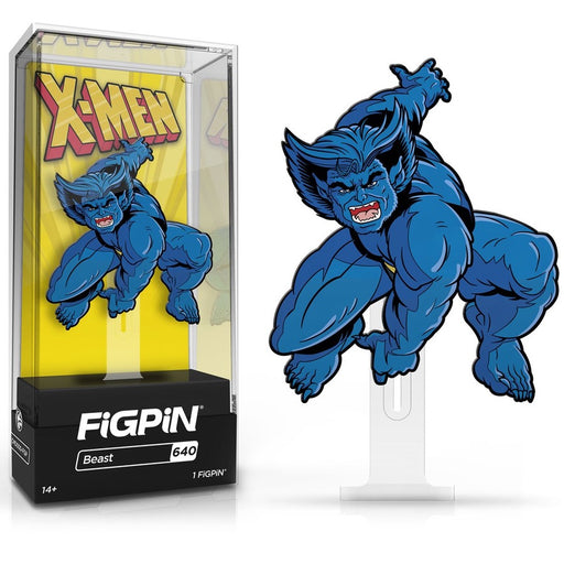 X-Men Animated Series Beast FiGPiN Classic Enamel Pin