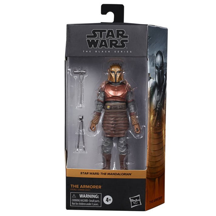 Star Wars The Black Series The Armorer (The Mandalorian) 6-Inch Action Figure