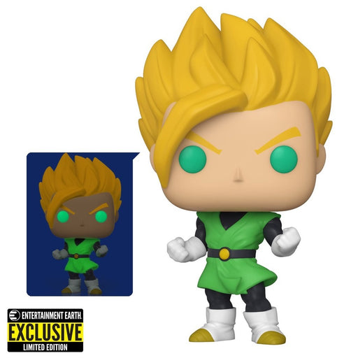Funko POP! Dragon Ball Z Super Saiyan Gohan GITD Pop! Vinyl Figure - EE Exclusive