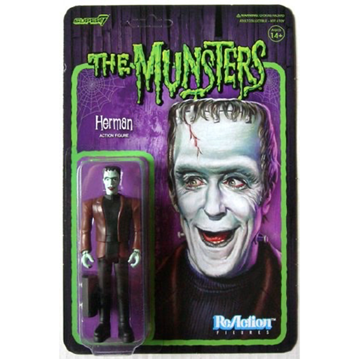 The Munsters Herman Munster ReAction Figure