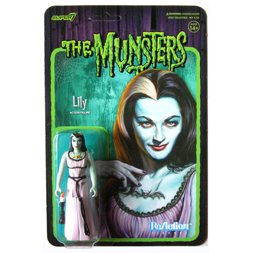 The Munsters Lily Munster ReAction Figure